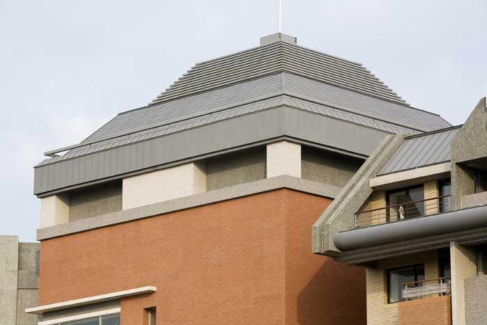 梯形别墅房顶设计图