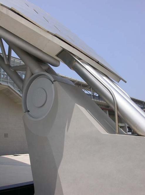 高鐵新竹站-複層金屬屋面版-5