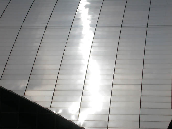 高鐵新竹站-複層金屬屋面版-2